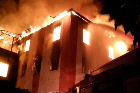 Turkey: Fire at dormitory for girls kills 12, injures 22