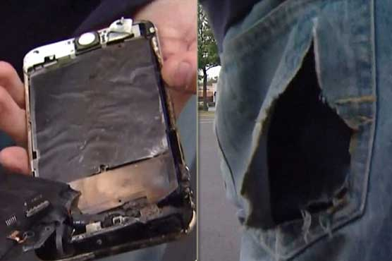 IPhone 6 Plus Catches Fire in Student's Back Pocket