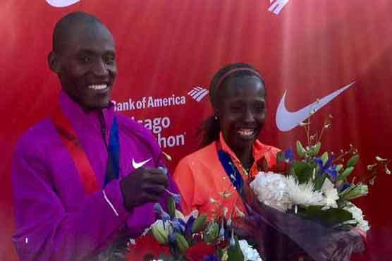 Kenyans Kirui, Kiplagat notch Chicago Marathon wins