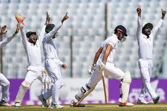 England dominates 1st test, leads Bangladesh by 273 runs