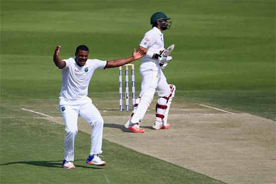 Pakistan restricts West Indies' progress to 151