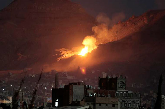 Saudi-led coalition stages air strikes after Yemen ceasefire ends