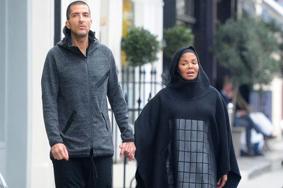 Janet Jackson dons burqa as she enjoys stroll with husband in London