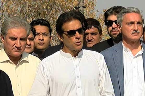 Tahir ul Qadri, Imran Khan bury the hatchet