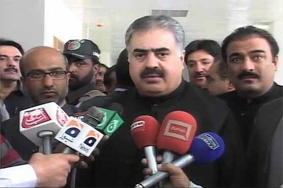 Won't bow to terrorists in any case: Sanaullah Zehri