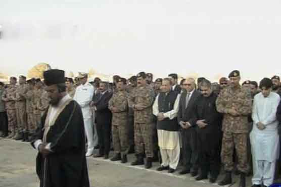 Police facility attack: Funeral prayers of martyred offered in Quetta