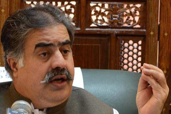 Zehri revealed to have rejected funds to raise police centre's walls