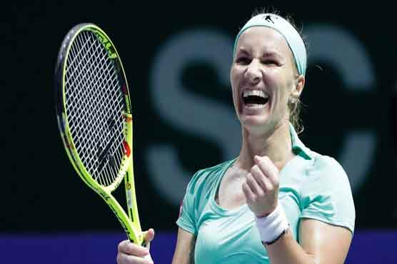 Cibulkova upsets Kerber to win WTA Finals title
