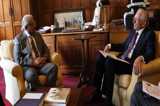 Chairman Senate meets Lord Speaker at British House of Parliament