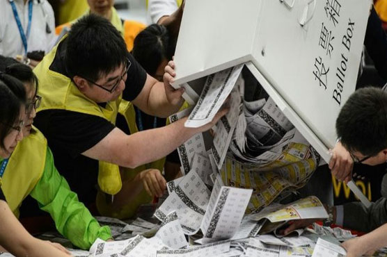 Young activists take on China in key HK polls