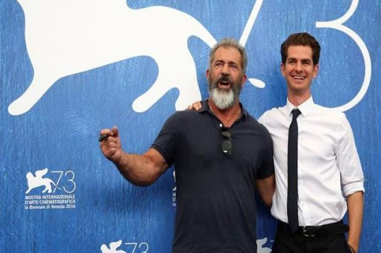 Mel Gibson 'surviving' in Hollywood as war drama premiers in Venice