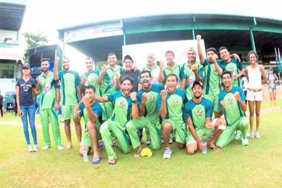 Pakistan thump Lanka to top pool in Campus Cricket