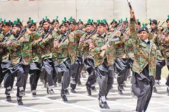 59th passing-out parade of FC held in Loralai