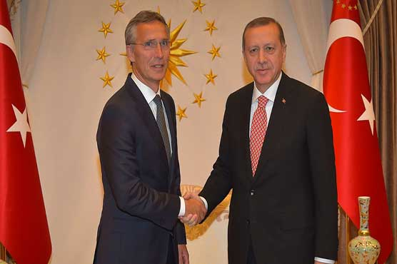 Stoltenberg: NATO expands because of Russia's military might