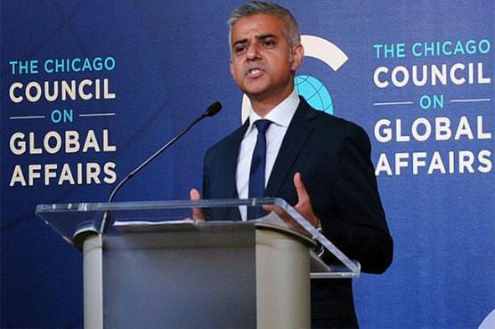 In US visit, London mayor Sadiq Khan criticizes Trump