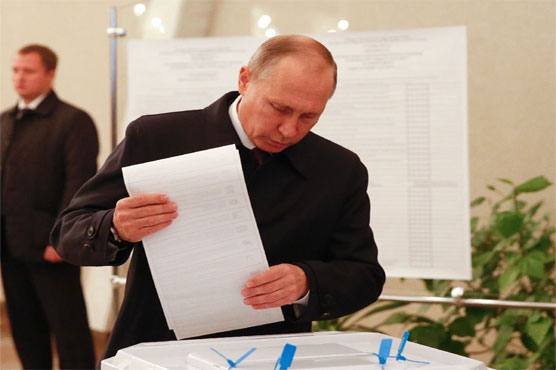 Russian President Vladimir Putin Wins Reelection