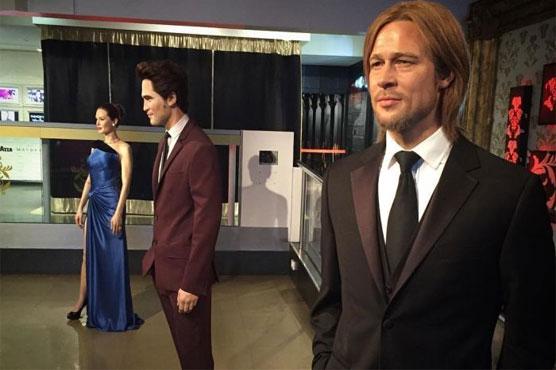 After split, London's Madame Tussauds separates Jolie, Pitt wax figures