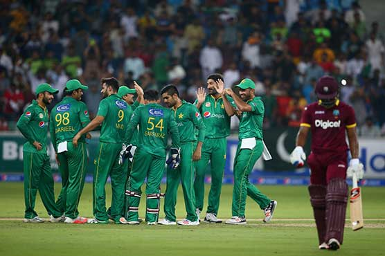 Pakistan survive West Indies late charge for 16-run victory