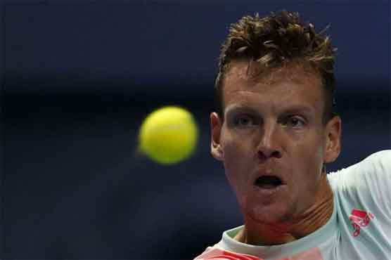 Berdych beats Vesely to make Shenzhen semis with Gasquet