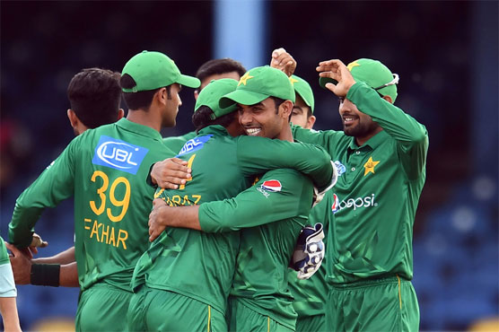 Hasan, Shadab restrict Windies to 124-8