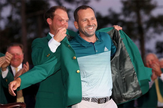 Sergio Garcia won the Masters on Sunday defeating Justin Rose on the first playoff hole