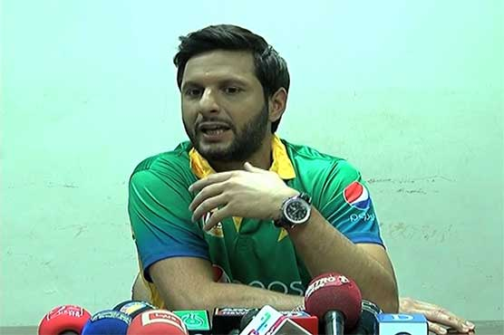 No plans to join politics, says Shahid Afridi
