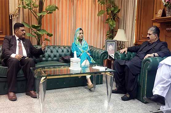 Balochistan CM meets PM's Focal Person for Polio