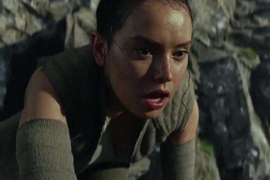 'Star Wars: The Last Jedi' first trailer thrills fans