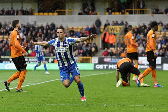 Football: Brighton move closer to Premier League promotion
