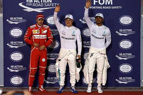 Bottas beats Hamilton to claim maiden career pole position at Bahrain GP