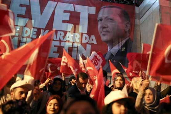 Referendum boosts power of Turkey prez