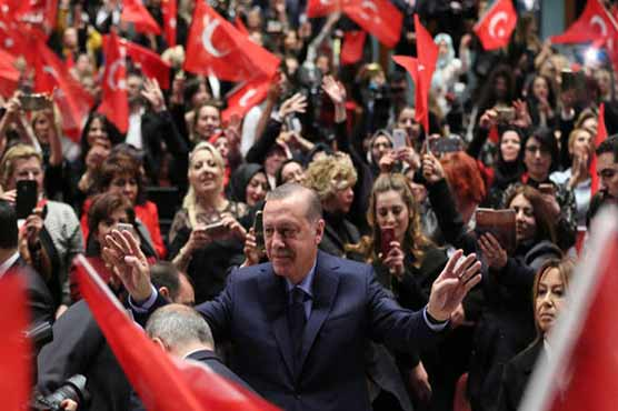 We won't consider OSCE report on referendum: Erdogan