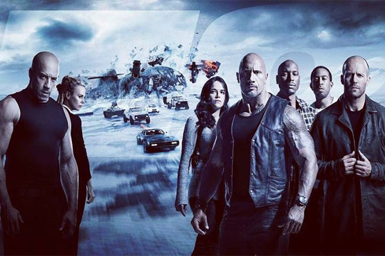 'The Fate of the Furious' tops box office, breaks international record