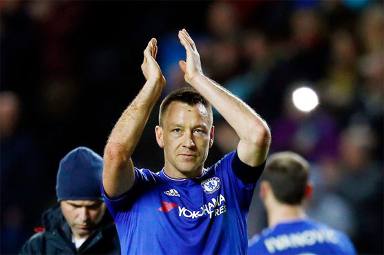 Football: Terry won't retire after leaving Chelsea