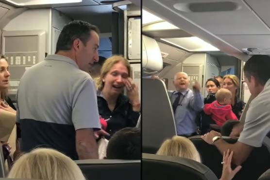 American Airlines flight attendant suspended after confrontation with passenger