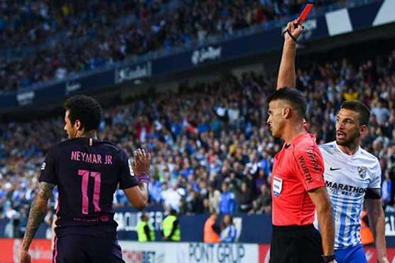 Football: Neymar ban dispute rages ahead of Clasico