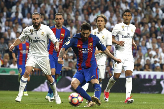 Football: Messi double as Barca beat Real Madrid 3-2 in El Clasico