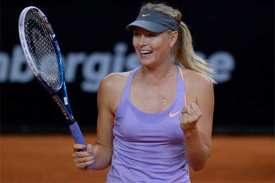 Sharapova draws Vinci with critic Radwanska waiting