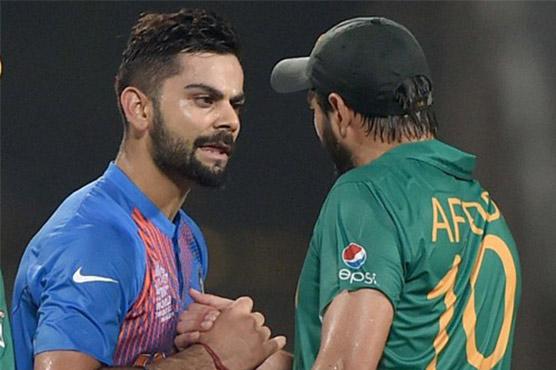 This Afridi-Kohli Twitter exchange transcends Pak-India animosity