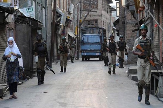 Occupied Kashmir shut-down as protest against killing of Kashmiri youth