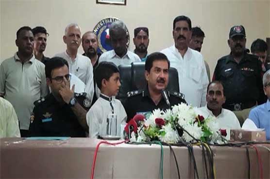 Karachi: Child recovered, alleged murderer of five arrested