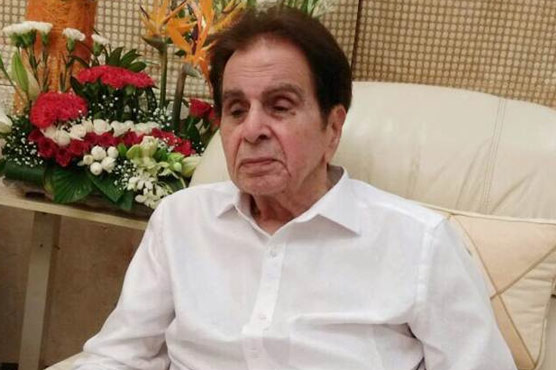 Dilip Kumar's condition is stable and slowly improving