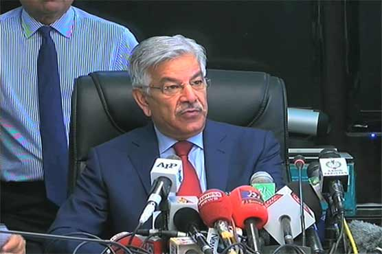Let's talk Kashmir first, Khawaja Asif tells India