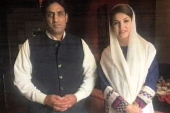 Don't mess with me young man, Reham Khan tells Murad Saeed