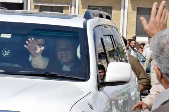 Defiant Nawaz Sharif continues GT Road Rally in Lahore
