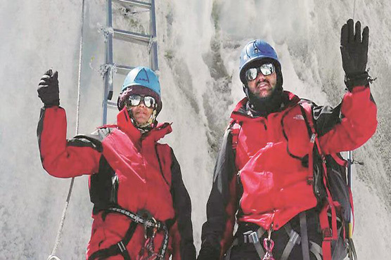 Cop couple who faked Everest feat dismissed