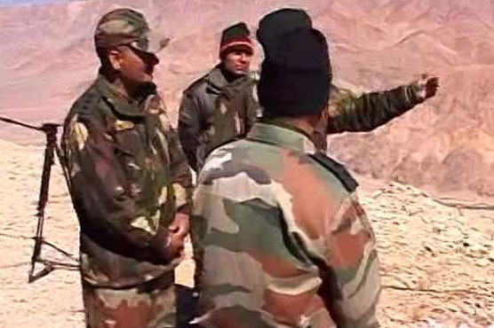 India Army Steps Up Troop Levels on China Border