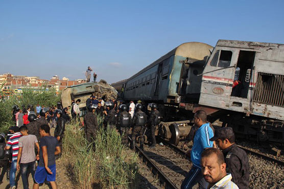 36 dead as trains collided in Egypt