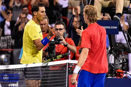 Shapovalov doesn't remember posing for photo with Nadal at 2008 Rogers Cup