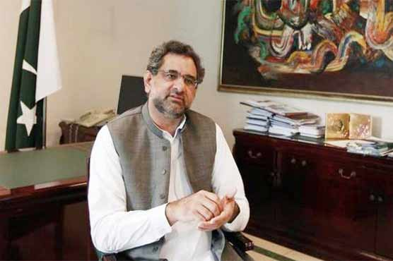 Abbasi arrives in Karachi on maiden trip as prime minister